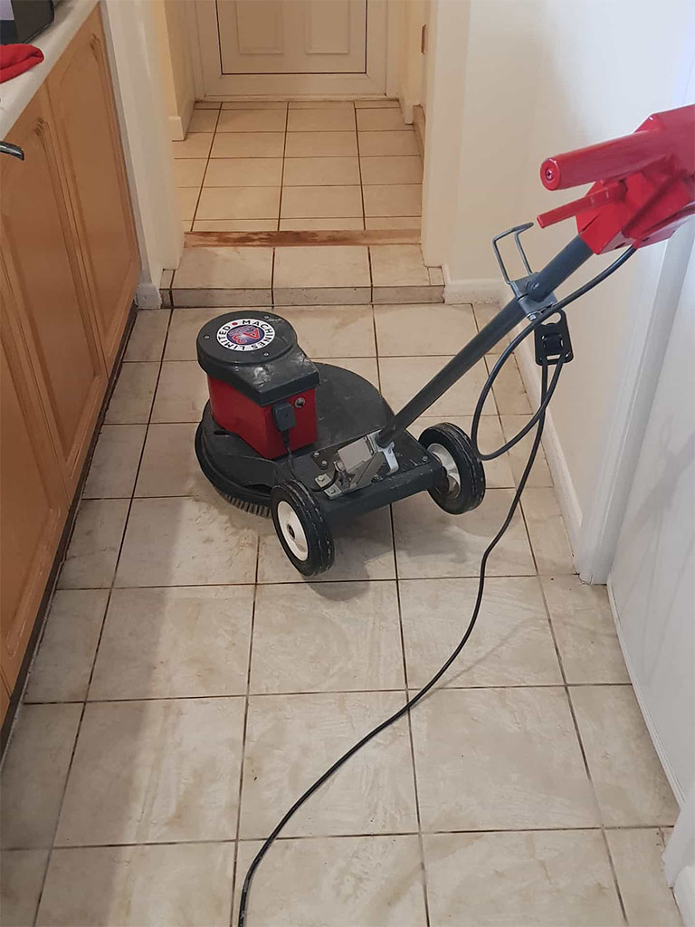 Hallway Floor Cleaning