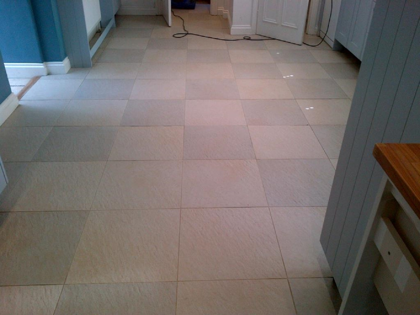 Textured Ceramic Tile Cleaning